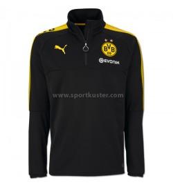 Borussia Dortmund 1/4 Trainings Zip Shirt