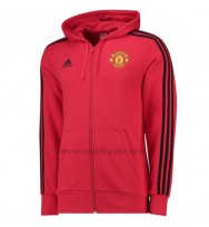 Manchester United 3-Streifen Kapuzenjacke