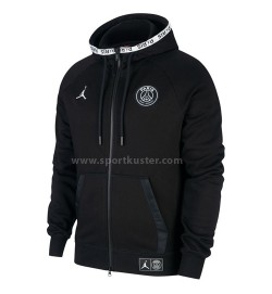Paris Saint-Germain Black Cat Full Zip Hoodie Jacke