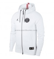 Paris Saint-Germain Full Zip Hoodie Jacke