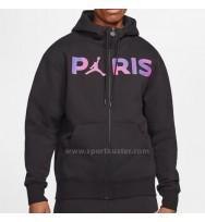 Paris Saint-Germain Men's Full-Zip Fleece Jacke