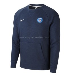 Paris Saint-Germain Crew Optic Langarm Rundhalsshirt