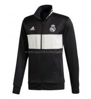 Real Madrid 3-Streifen Track Jacke