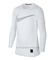 Nike Pro Kinder Langarm Shirt